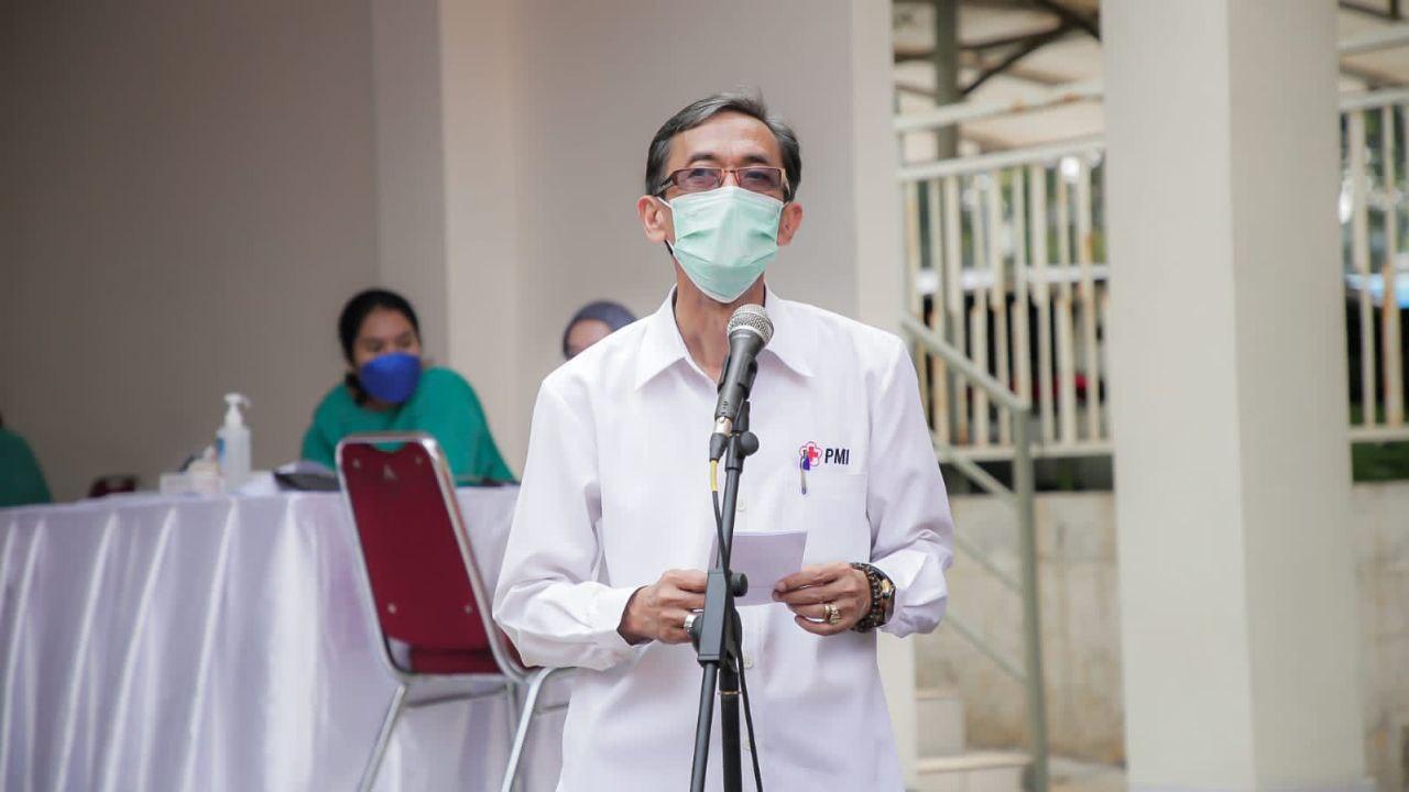 Koordinator Sentra Vaksin PMI, dr. Suhara Manulang
